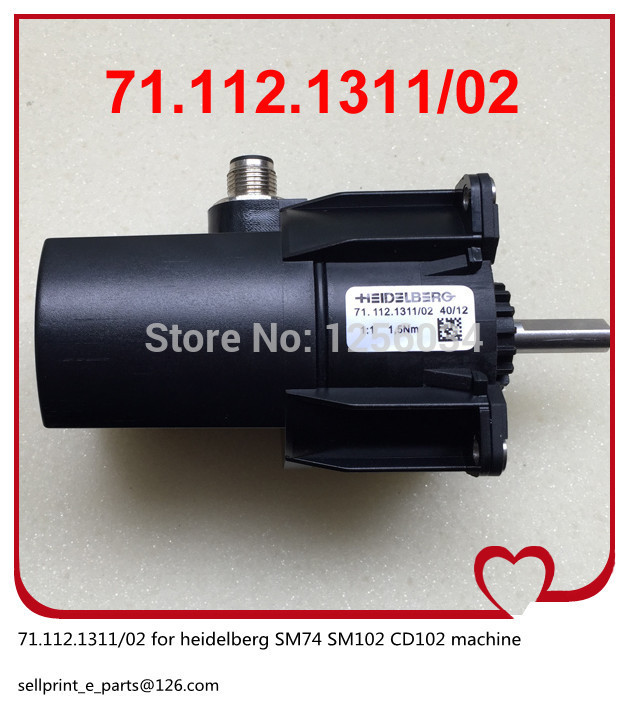 1 piece heidelberg SM74 SM102 CD102 machine motor 71.112.1311/02 1 set heidelberg sm102 cd102 mo machine parts feeder valve for heidelberg 66 028 301f mv 026 847