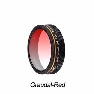 Image 4 - Lens Filtreler Kademeli Kırmızı Mavi Turuncu Gri Filtre DJI Phantom 4 PRO için Gelişmiş Drone Kamera Lensi Parçaları