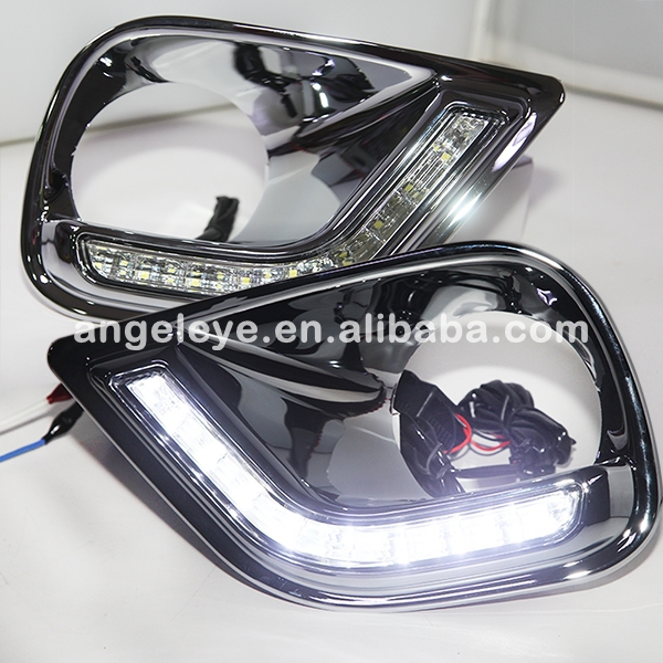 FOR TOYOTA LED fog light RAV4 LED DRL Daytime Running Light 2013 2014 Year