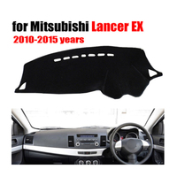 RKAC Car dashboard Covers For Mitsubishi LANCER EX ES 2010 2015 years right hand drive dashmat car dash pad auto accessories