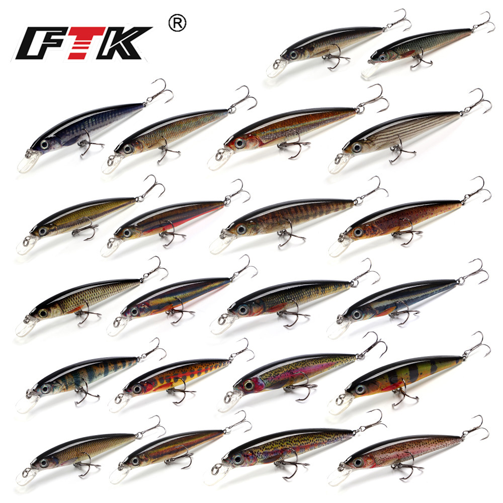 Fishing Lure 1PC Minnow 12g 100mm Wobbling Minnow Floating Lure Hard Bait Fishing Wobblers allblue slugger 65sp professional 3d shad fishing lure 65mm 6 5g suspend wobbler minnow 0 5 1 2m bass pike bait fishing tackle
