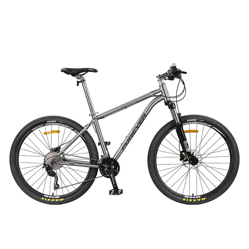 Titanium Alloy Mountain Bike Bicycle 30 Speed Variable Speed Ultra Light Hydraulic Disc Brake