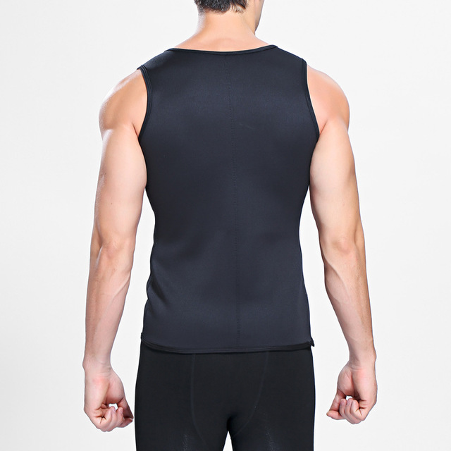 [EXILIENS] Man Shaper Brand Underwear Men Bodysuit Shapewear For Men Fitness Jumpsuit Neoprene rubber Faja Reductora Hombre Gray