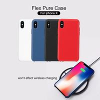 For Iphone X Phone Funda Case Cover Nillkin TPU Silicone Cover Protective Shell Soft Phone Cover