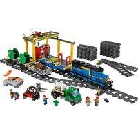 NEW 02008 City Series The Cargo Train Set Building Blocks Bricks 60052 RC Train Children Educational