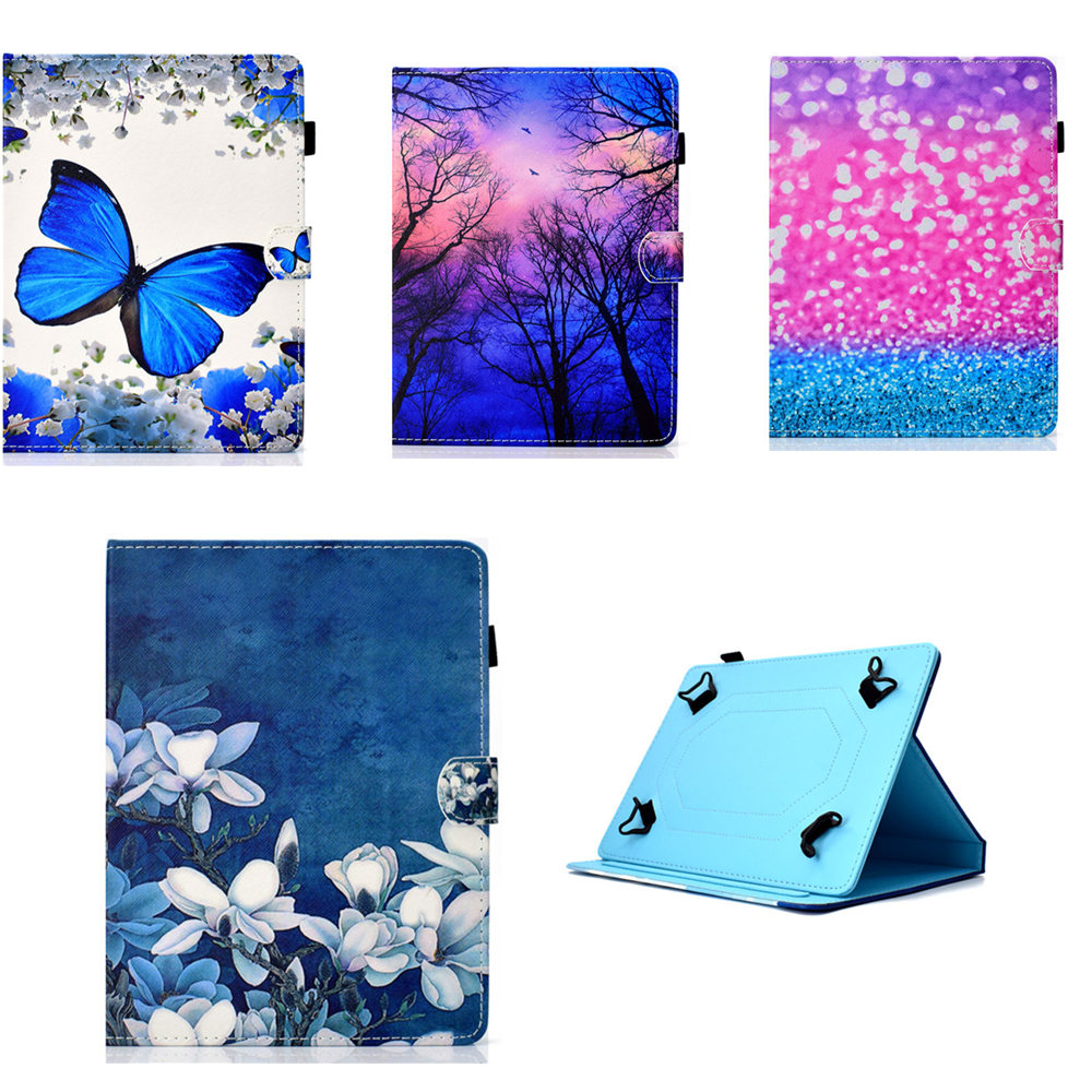 PU Leather Cover Case For Huawei Mediapad T1 8.0 S8-701U S8-701W T1-821W/T1-823L 8'' Folio 8.0 Inch Universal Tablet Cases