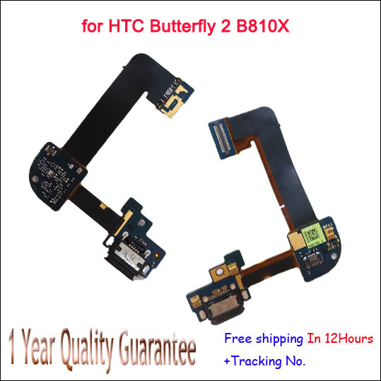 Dock Connector Charger Charging Port Cable for HTC Butterfly 2 B810X Micro USB Dock+Mic Microphone Original Free shipping