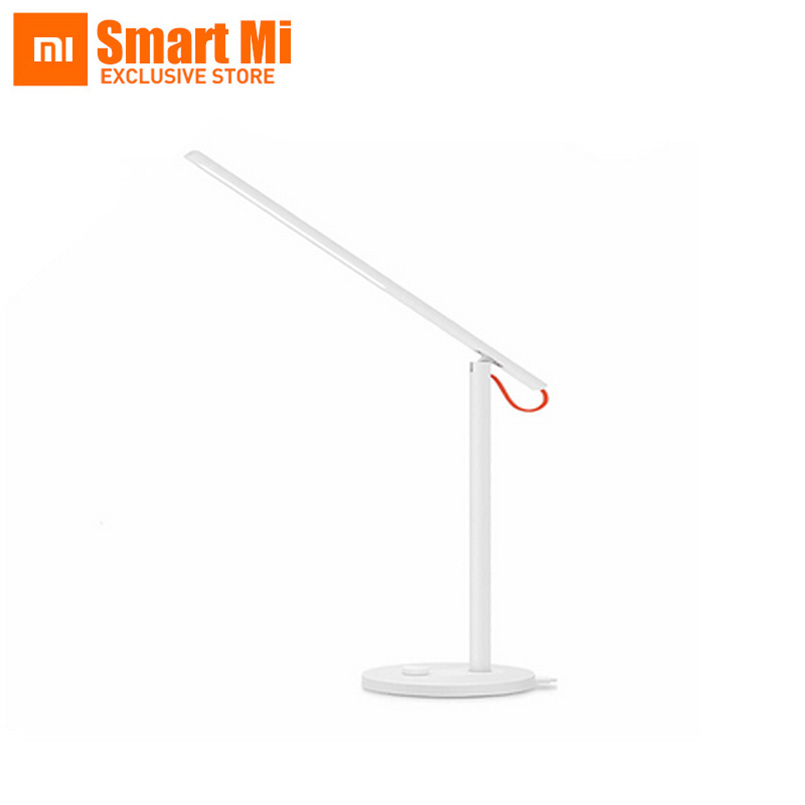 Original Xiaomi Table Lamp AC110V-240V Smart Mijia Desklight LED Lamps With Remote Phone App Control 4 Lighting Mode original xiaomi mijia led desk lamp smart table lamps desklight support mobile phone app control 4 lighting modes reading led