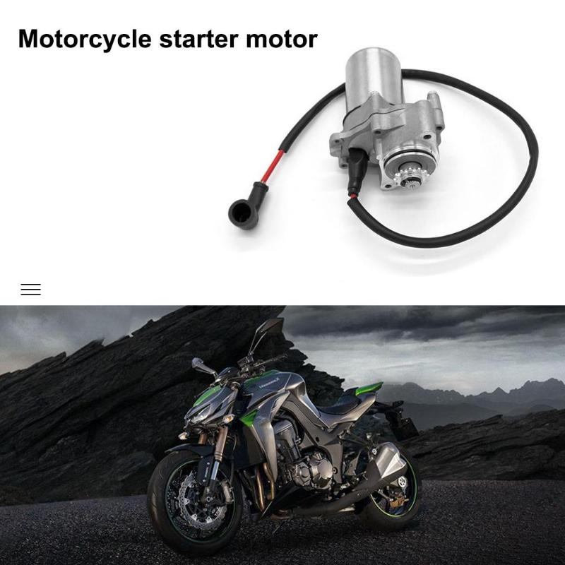 Vodool 50cc 70cc 90cc 110cc I St01 Electric Starter Motor Engine Mount Fits Atv Bike Motorcycle Engine Starter Motor Pure White And Translucent Engines & Engine Parts Engines