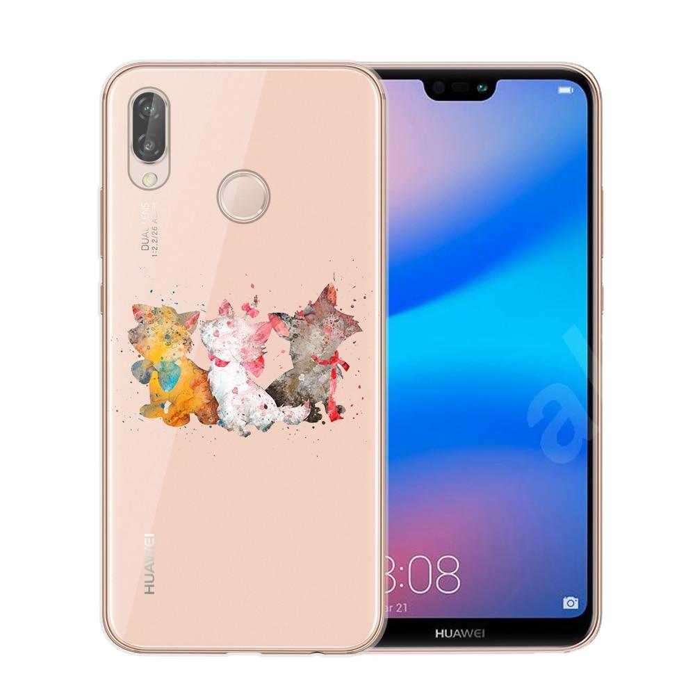Mickey Minnie Phone Case For Coque Huawei P8 P9 Lite 2017 P10 P20 ...
