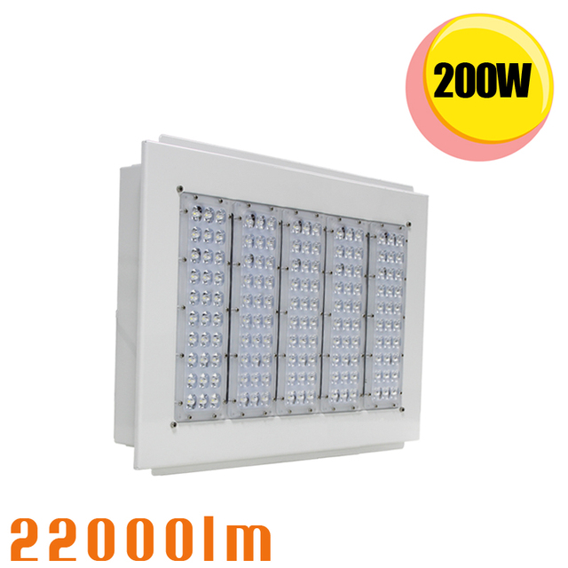 200 W tankstation led luifel licht 6000 K magazijn metro station ...