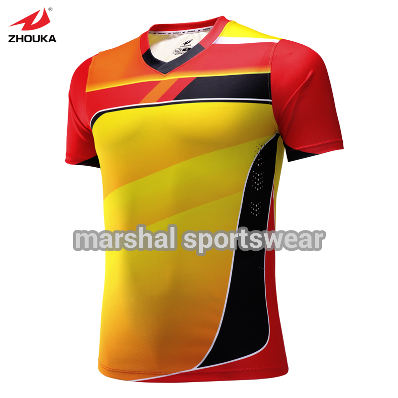 100% polyester sublimation personnalisé football jersey 24f5026ad394f