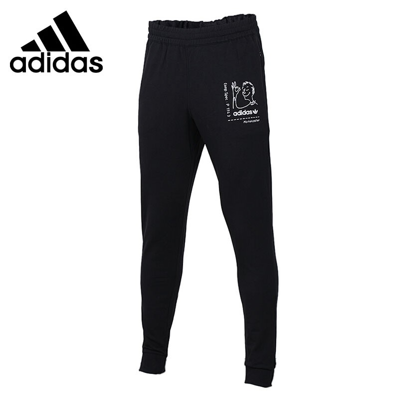 Original New Arrival 2018 Adidas Originals TRACK PANTS Men's Pants Sportswear adidas adidas base plain pants