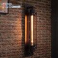 T Lâmpada de Parede Sótão Retro Industrial Para Bar & Coffee Shop & Restaurante Estilo Americano Iluminação de Cabeceira de Ferro Corredor Corredor