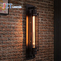 T Retro Desván Lámpara de Pared Industrial Para Bar y la Cafetería y Restaurante Pasillo Pasillo Iluminación de Cabecera de Hierro de Estilo Americano