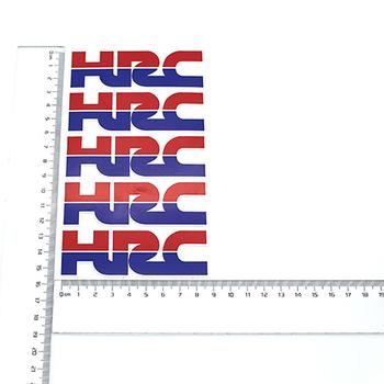Naklejki motocyklowe HRC naklejki ogólny model CRF CR XR CBR naklejki bezpłatna dostawa tanie i dobre opinie KYRUNNING 0 1kg Reflective strips 1inch Naklejki i naklejki
