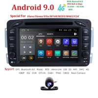 Android9.0CarDVD Radio Player GPS Wifi for Mercedes/Benz W203 Viano Vito W639 W638 W168 W210 C180 C200 C220 C230 C240 C270 C320