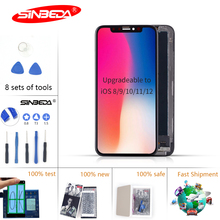 Sinbeda  For iPhone X S Max XR LCD Display Tianma AMOLED OEM Touch Screen With Digitizer Replacement Assembly Parts Black