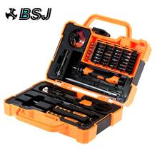 45 in 1 Disassembling Repair Tool Multi Bits Precision Screwdriver Set with Tweezers Suitable for PC / Phone / Laptop