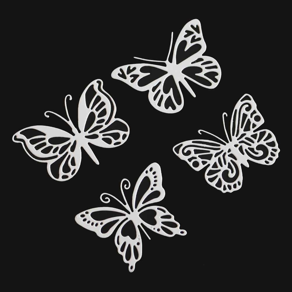 DIY Metal Cutting Die Butterfly Shape Troquel Flore Cut Embossing Craft Gift New