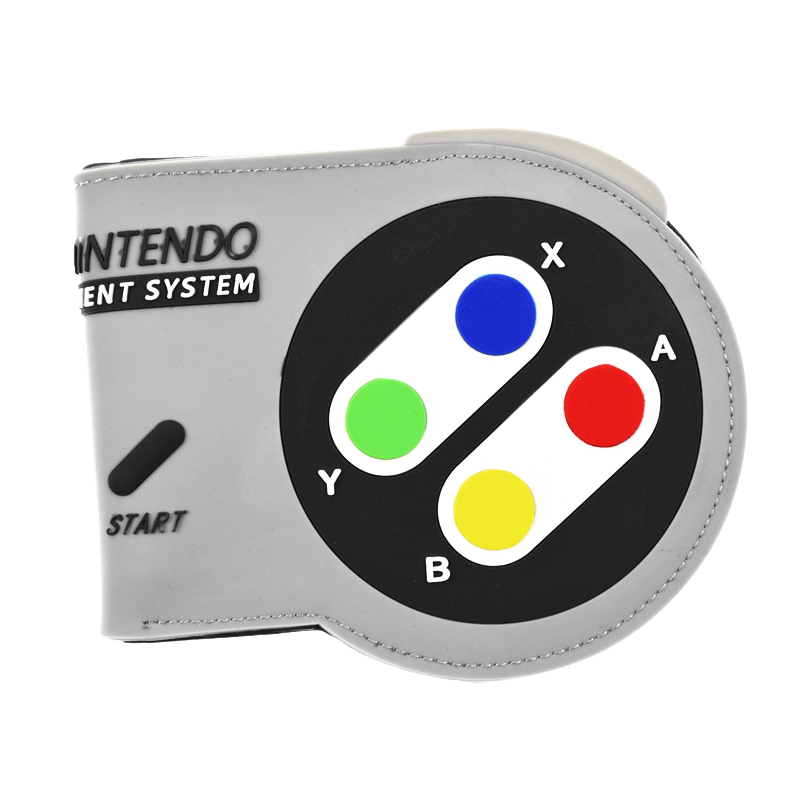New Arrival Game Wallet SUPER NINTENDO Purse 3D Touch Coin Purse