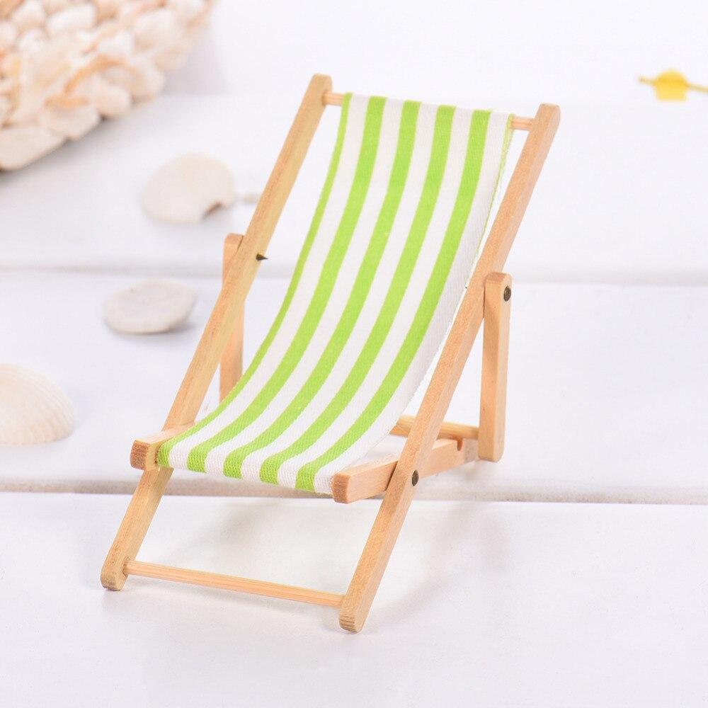 2017 Mini kuća za lutke Drvena stolica za plažu i klupa za - Kućni dekor - Foto 5