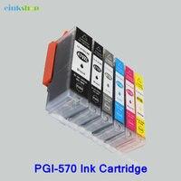PGI 570 CLI 571 Ink Cartridges PGI 570 CLI 571 For Canon MG5750 MG5751 MG5752 MG5753