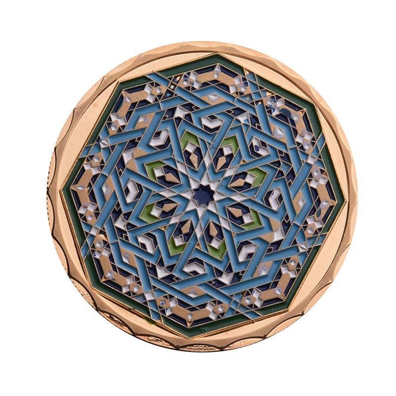 Muslim Culture Ramadan Lucky Special Octagon Collectible Coin Special Artware