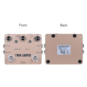 Image 2 - Rowin Twin Looper Station Electric Guitar Effect Pedal Loop Station for Guitarists Golden