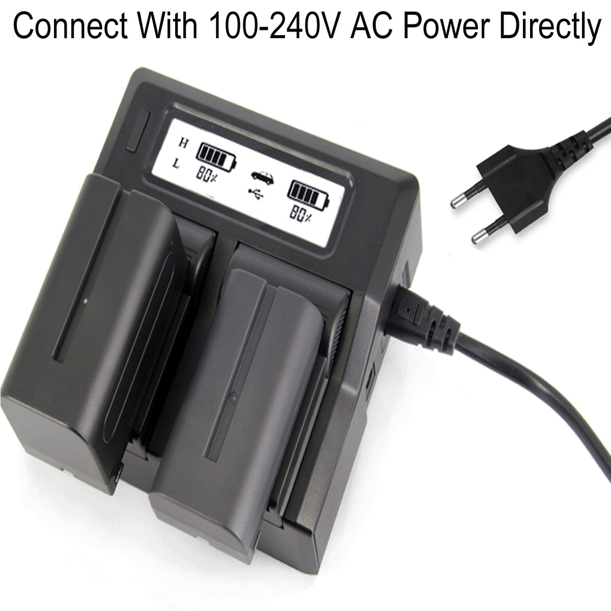 Standard Sony HVR-Z5E Replacement Camcorder Battery