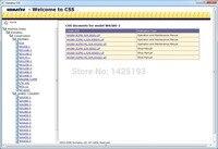Komatsu CSS строительство колесные погрузчики Средний Размеры магазин руководства