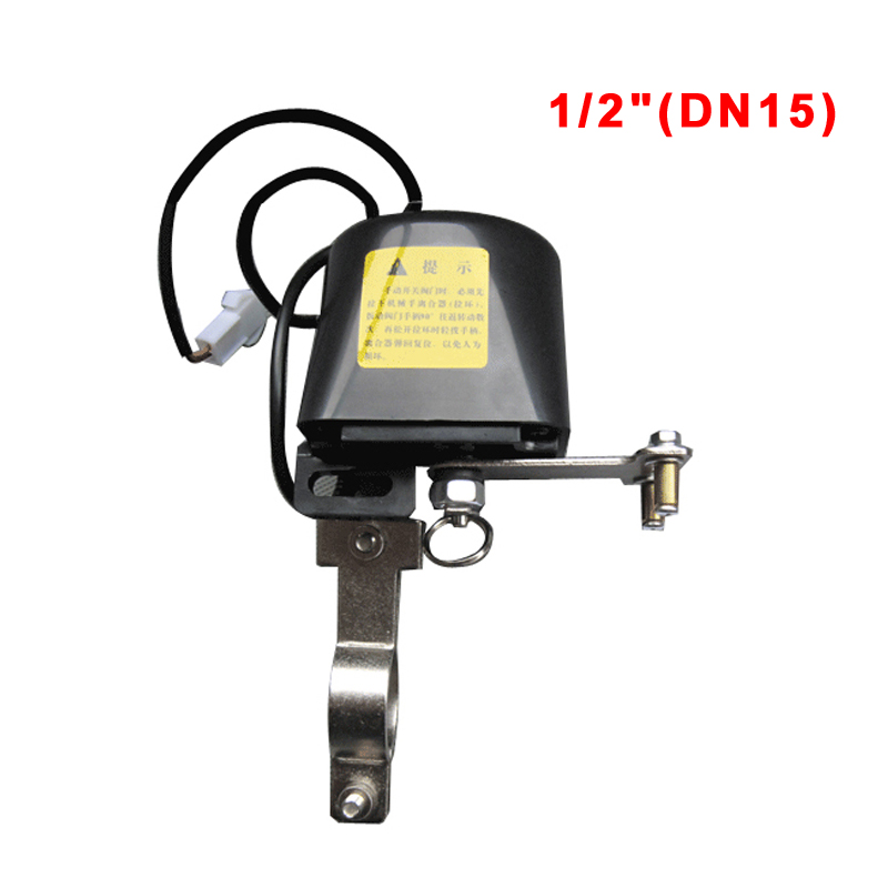Süß GehäRtet 1/2 dn15 Smart Wasserventil Controller Manipulator Smart Home Automation System Ventil Für Erdgas Lecksucher 12 V 1a Ventil