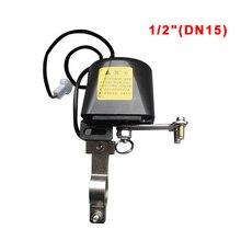 """Contrôleur de vanne deau intelligent 1/2 """"DN15, manipulateur de vanne, système dautomatisation à domicile intelligent pour détecteur de fuites de gaz naturel 12V/1A"""