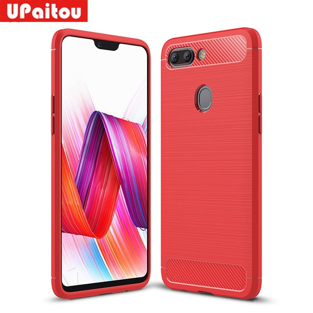 on sale 826ab 80fe3 US $2.99 25% OFF|UPaitou For OPPO R15 Pro Case Ultra Thin Carbon Fiber Case  Soft TPU Cover For R15 Pro Phone Cover Case-in Fitted Cases from ...
