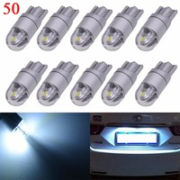 Katur 50x T10 W5W Led Side Marker Bulbs 194 168 Reading Light High Quality Signal Bulbs