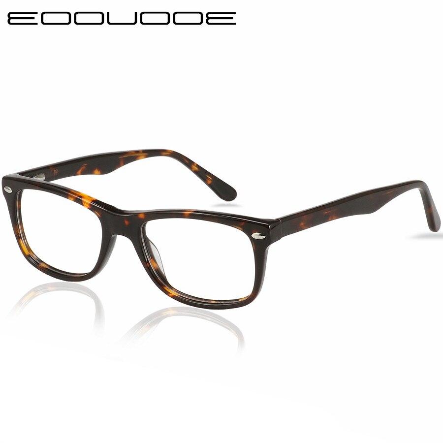 Acétate lunettes cadre femmes optique Prescription lunettes cadre lunettes pour hommes