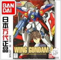 Bandai 77150 HG WF 09 1/144 XXXG 00W0 Wing Gundam Zero EW Mobile Suit Assembly Model Kits Action Figure