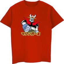 Anime Mazinger Z T-shirt Men O-neck Cotton Short Sleeve T Shirt Summer  Casual Hip Hop Tees Tops Harajuku Streetwear 05809c5389c8