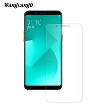 Wangcangli 2.5D szkło hartowane film dla OPPO A83 0.3mm ultra cienki ekran folia na wyświetlacz 9H folia ochronna telefonu komórkowego