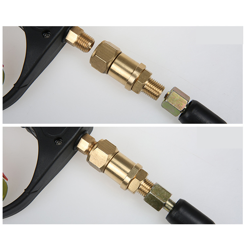 conector de alta pressao do equipamento da 04