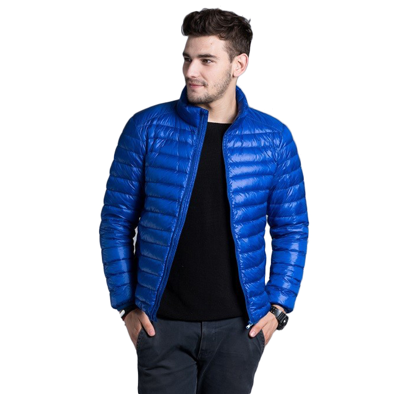 Hot Sale Men S Jackets Fashion Casual Warm Jackets Solid Thin