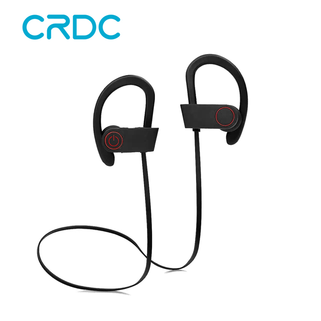 CRDC Bluetooth Headphones Waterproof Stereo Wireless Headphone Sports Bass Bluetooth Earphone with Mic for Phone iPhone Xiaomi