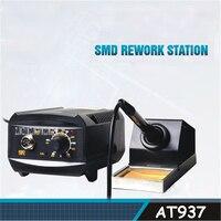 محطة لحام AT937 مقاومة للكهرباء الإستاتيكية ثابتة محطة لحام حديد لحام محطة لحام رائجة البيع 110 فولت/220 فولت 50 واط-في محطات لحام من أدوات على