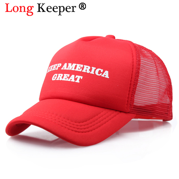 Cool New Donald Trump Red Hat Re-Election Keep America Great Spring Summer Cool Baseball Mesh Caps Adjustable Sport Hat multi style women men donald trump republican hat make america great again hat cap digital camo