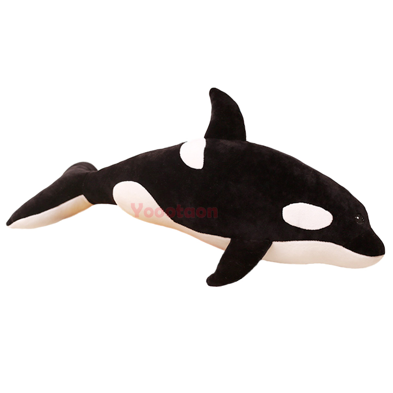 BIG size <font><b>Killer</b></font> <font><b>whale</b></font> <font><b>plush</b></font> toys pillow soft stuffed animal toy for children cushion christmas toys image