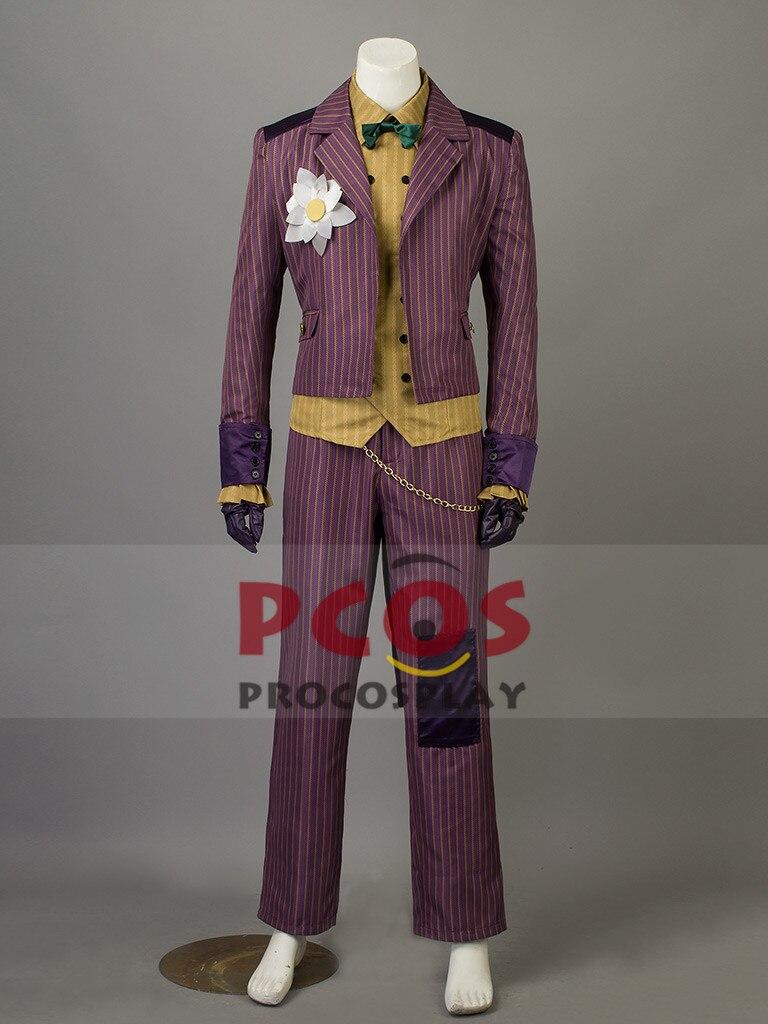 Batman:Arkham Asylum Joker Cosplay Costume mp003438