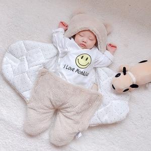 Image 4 - Coperta del bambino swaddle cotone morbido del bambino appena nato swaddle me wrap sleepping borsa decke cobertor infantil bebek battaniye cobijas bebe