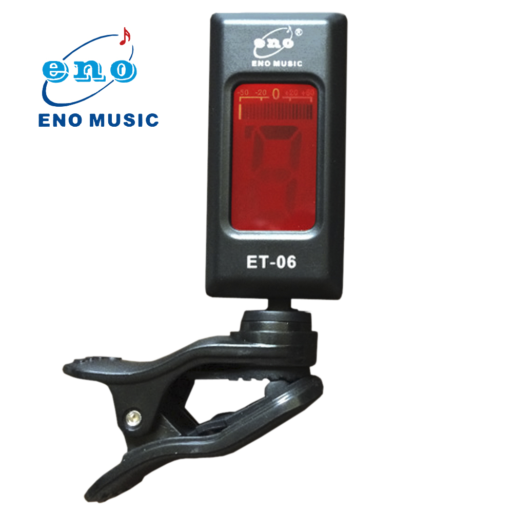 high quality portable eno 360 degree mini rotatable lcd guitar tuner electronic digital clip on. Black Bedroom Furniture Sets. Home Design Ideas