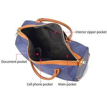 Weekender Bags For Men   Large Capacity Women Fitness Gym Bags Casual Oxford Travel Bag Hand Luggage Weekend Bag Men Multifunctional Handbag Tas XA719WA