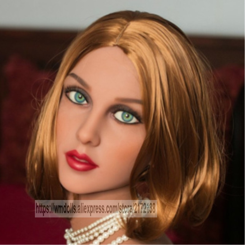 WMDoll sex doll head  for  Realistic  Sex Doll  from 140-170cmWMDoll sex doll head  for  Realistic  Sex Doll  from 140-170cm